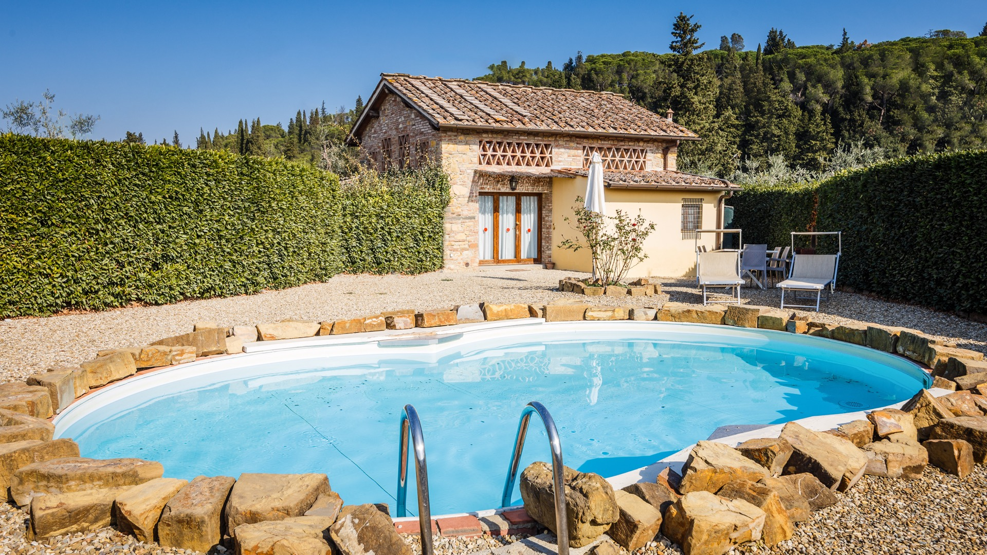 Resort relais villa olmo chianti villas for Anda garden pool villas