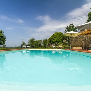 relax in our swimming pool at Relais Villa Olmo hotel Chianti