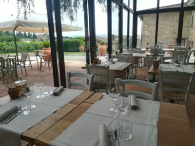 Restaurant Diadema: relaxing and elegant ambiance at our wine resort with pool chianti