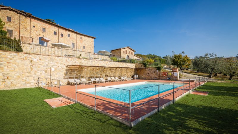 Relais Villa Olmo food and wine resort with pool florence hills
