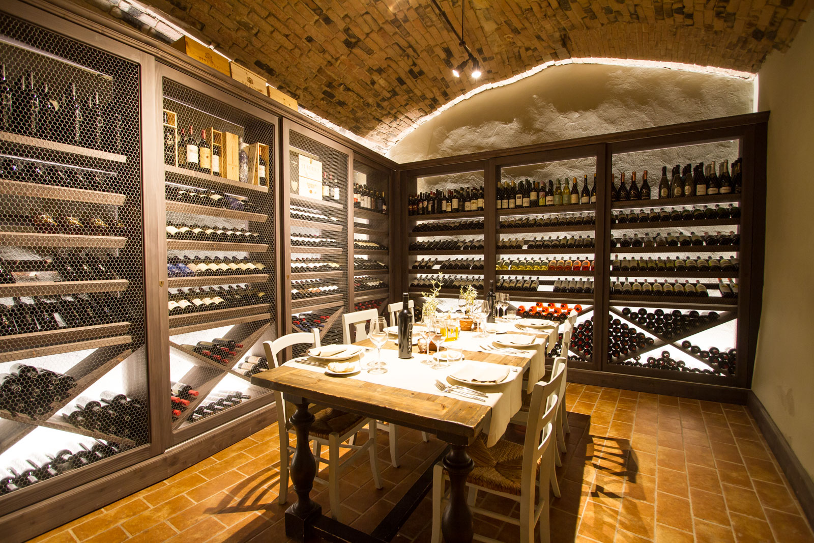 the cellar of our food resort with pool near florence