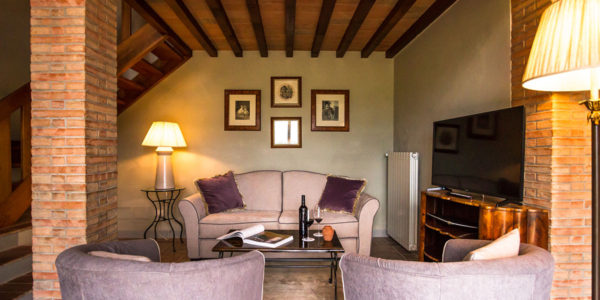 villa of our wine resort in tuscany
