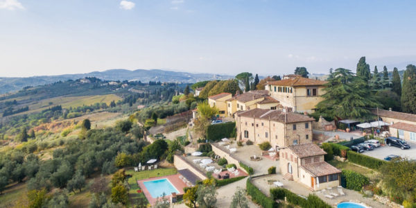 Relais Villa Olmo ancient resort in tuscan countryside