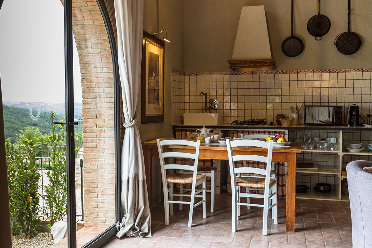apartment in our wine resort in tuscany