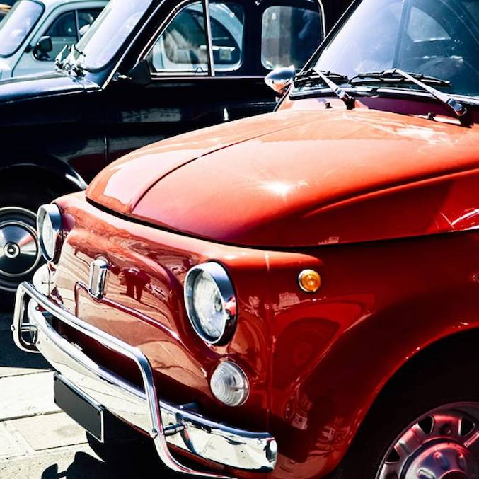 FIAT 500 wine tour in Tuscany