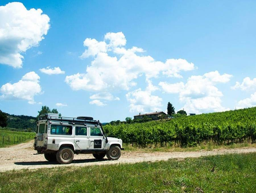 unique way to explore Chianti wine region